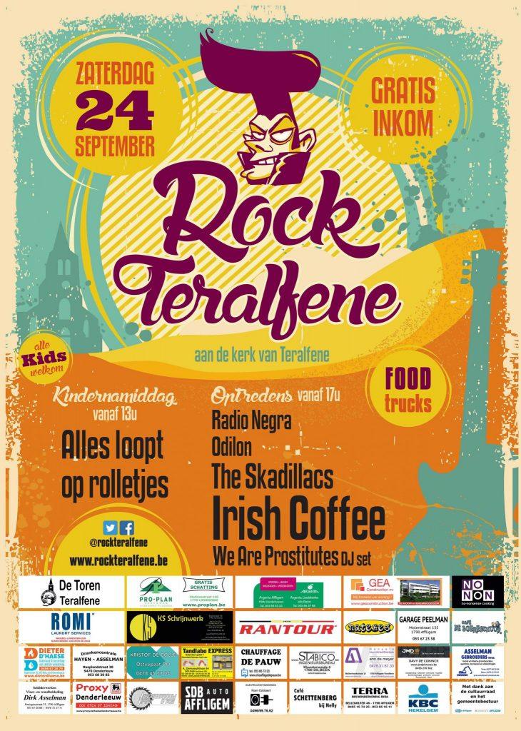 Affiche Rock Teralfene 2016