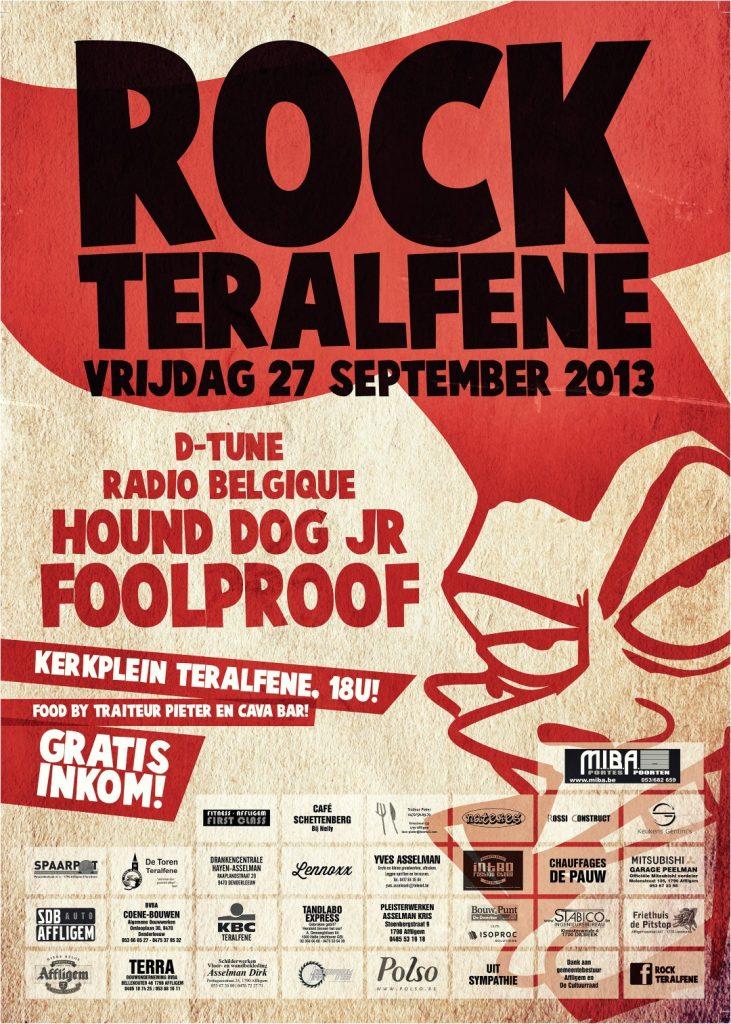 Affiche Rock Teralfene 2013