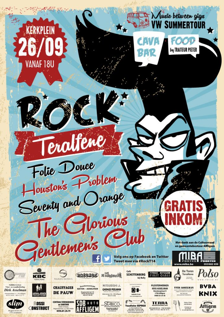 Affiche Rock Teralfene 2014