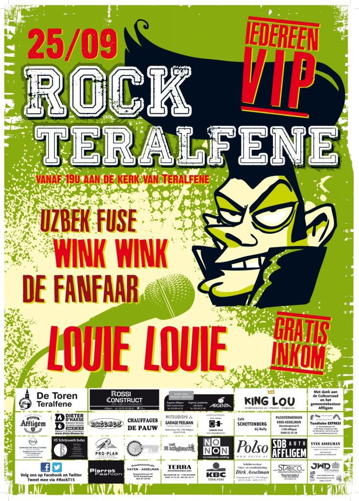 Affiche Rock Teralfene 2015