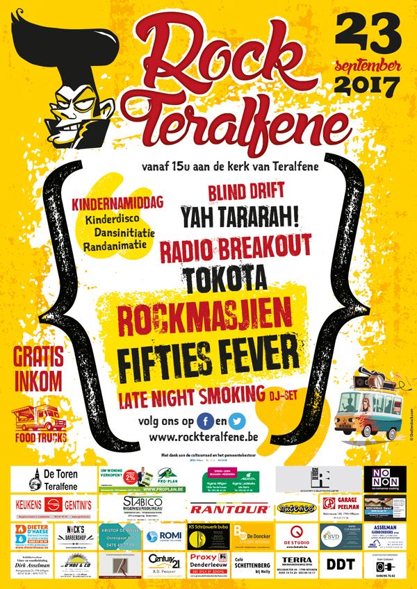Affiche Rock Teralfene 2017
